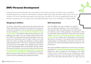 Premium Personality Profile - ENTJ