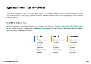 green Preview Premium Profile - Page 12