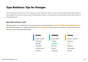 orange Preview Premium Profile - Page 11