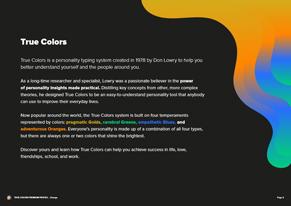 orange Preview Premium Profile - Page 2